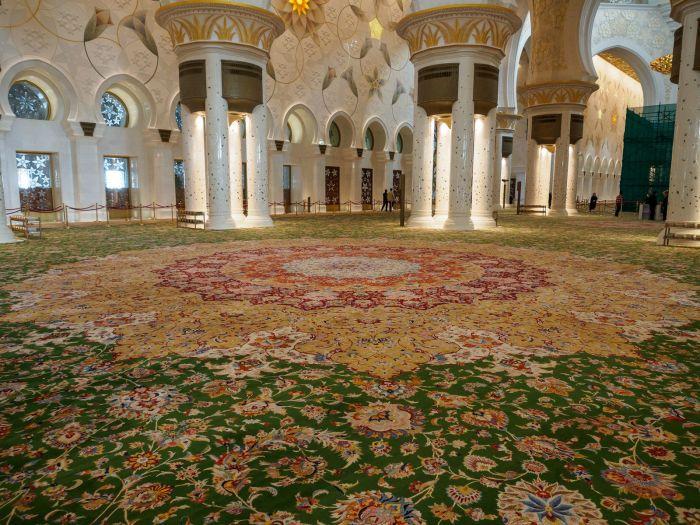 Самый большой в мире ковёр. / Фото: www.imgur.com