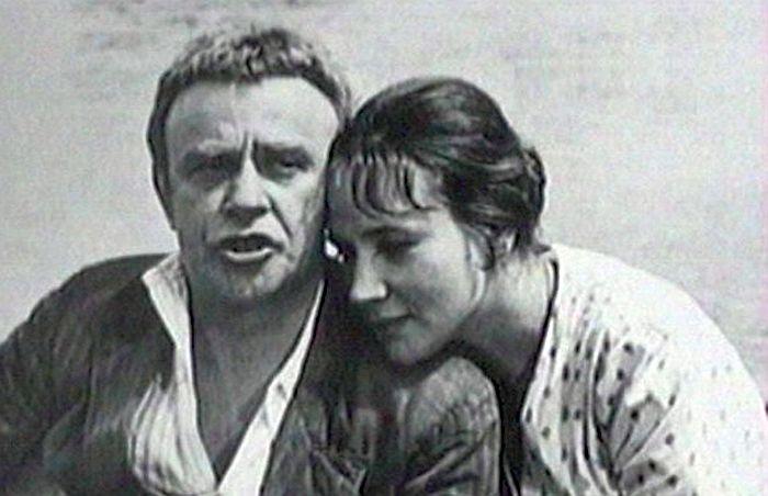 Ролан Быков и Елена Санаева. / Фото: www.radio.obozrevatel.com