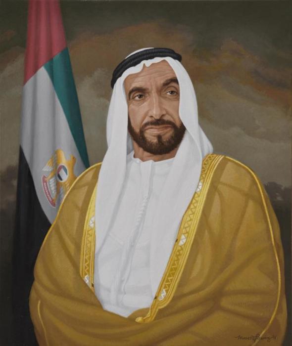 Шейх Зайд ибн Султан Аль Нахайян. / Фото: www.artabus.com