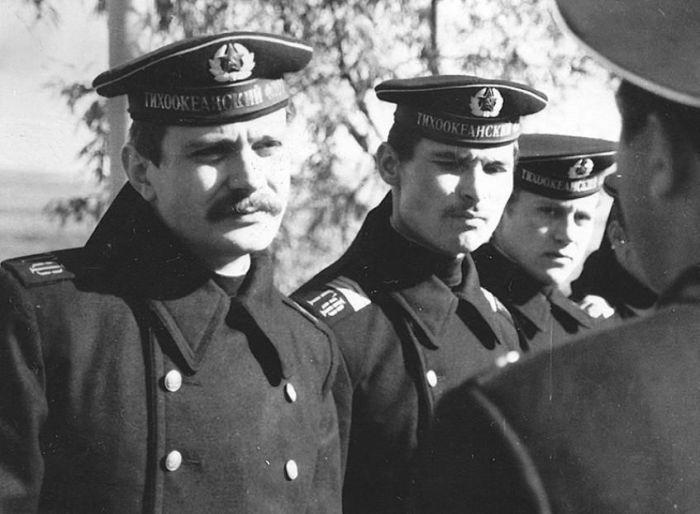 Никита Михалков в армии, 1973. / Фото: www.tunnel.ru