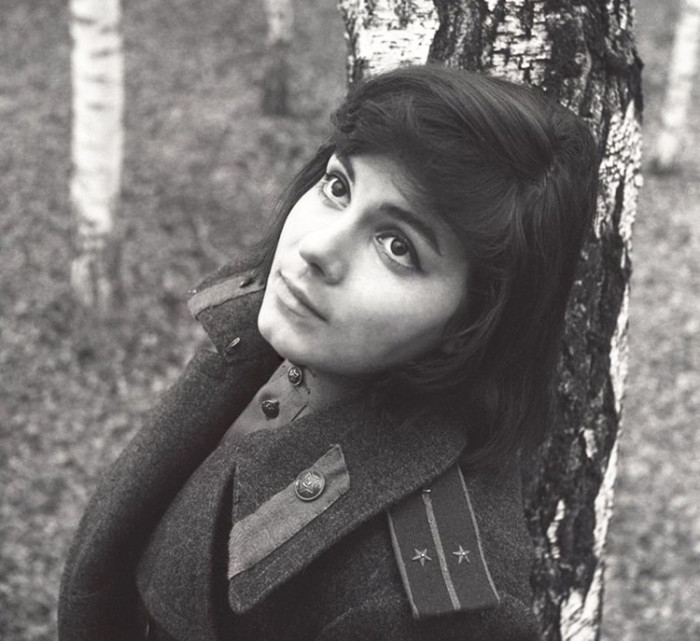 Валентина Малявина, кадр из фильма «Иваново детство». / Фото: www.kino-teatr.ru