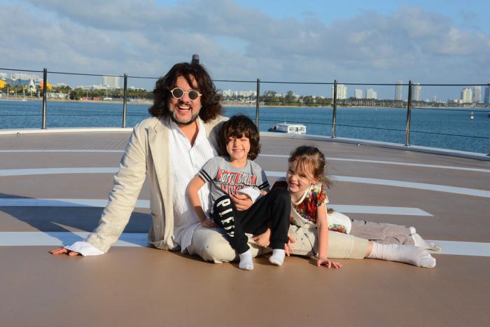 Филипп Киркоров с детьми.  / Фото: www.o-krohe.ru