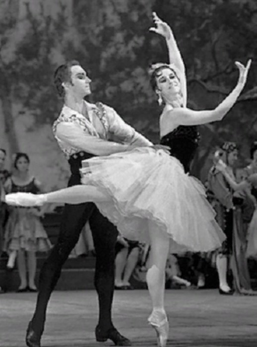 Майя Плисецкая и Марис Лиепа, балет Большого театра «Дон Кихот», 1968 год. / Фото: www.22-91.ru