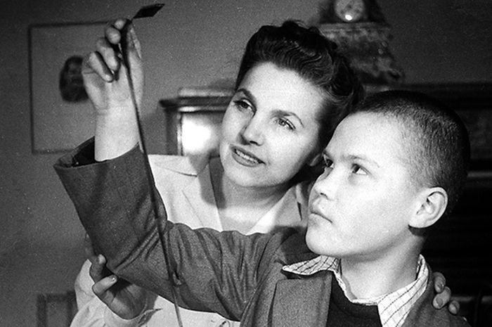Тамара Макарова и Артур Макаров. / Фото: www.kino-novosti.org.ua