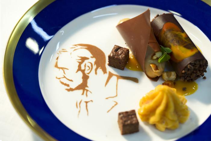 Так подавали мороженое на одном из Нобелевских банкетов. / Фото: Helena Paulin-Strömberg, www.mynewsdesk.com