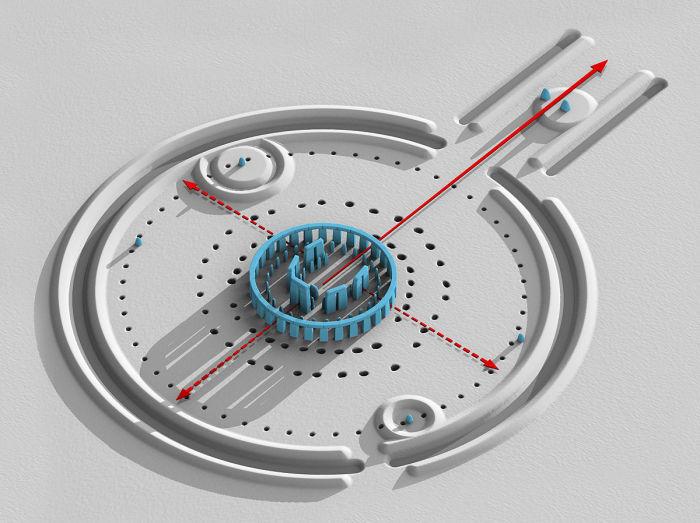 3D визуализация Стоунхенджа. / Фото: www.wikipedia.org
