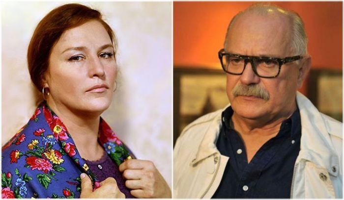 Нонна Мордюкова и Никита Михалков