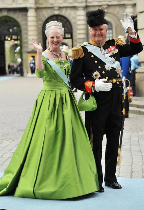 Королева Дании Маргарете II и принц Хенрик. / Фото: www.happy-giraffe.ru