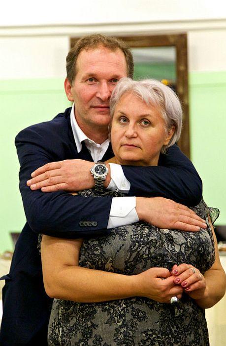 Фёдор и Ирина Добронравовы. / Фото: www.gallery.ru