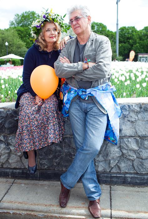 Сергей Мартынов с женой Ириной Алферовой. / Фото: www.hellomagazine.com