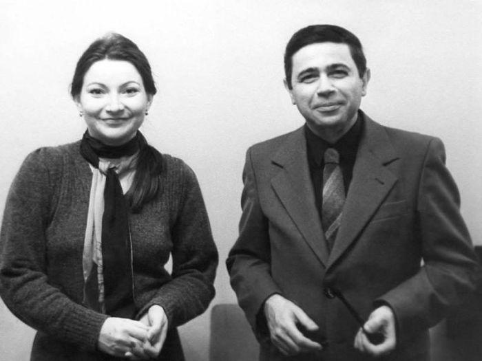 Евгений Петросян и Елена Степаненко в молодости. / Фото: www.topkin.ru