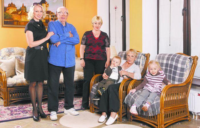 Большая семья. / Фото: www.liveinternet.ru