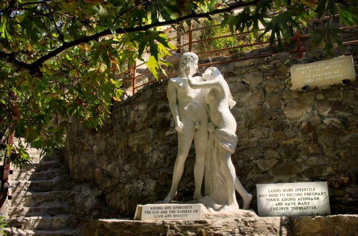 Адонис и Афродита. / Фото: www.imhomir.com