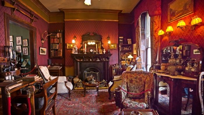 Музей Шерлока Холмса. / Фото: www.scrollex.ru