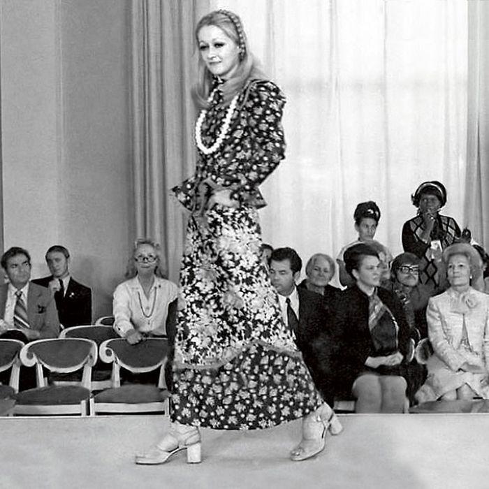 Татьяна Михалкова - модель. / Фото: www.7days.ru