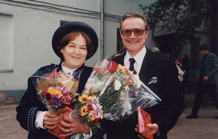 Юрий и Ольга Соломины. / Фото: www.maly.ru