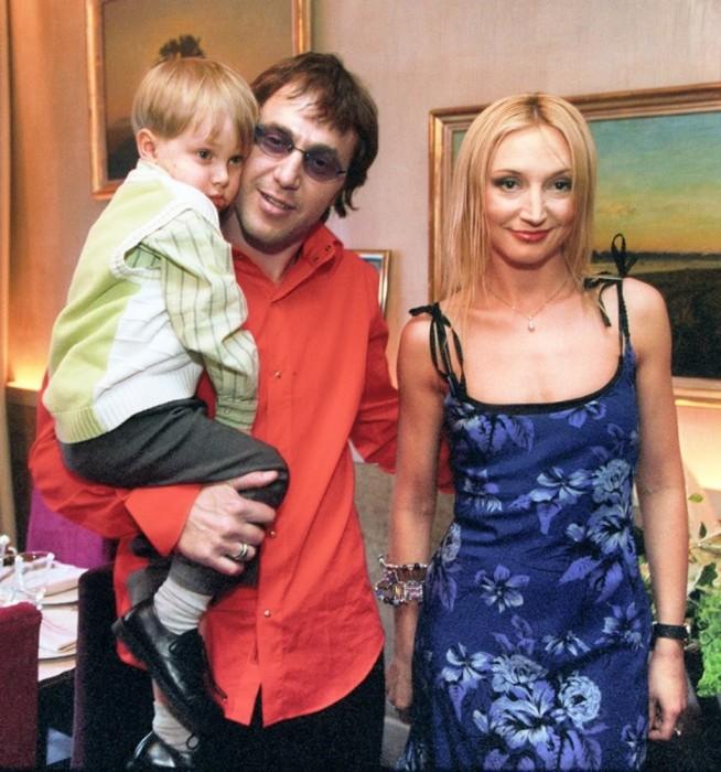 Кристина Орбакайте и Руслан Байсаров с сыном Дени. / Фото: www.woman.ru
