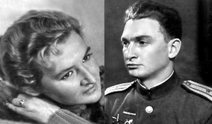 Борис Слуцкий и Татьяна Дашковская.