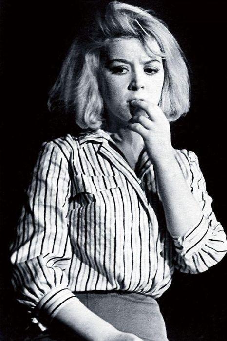 В роли Маши в спектакле «Мост и скрипка», 1964 год. / Фото: из архива С. Карпинской, www.7days.ru