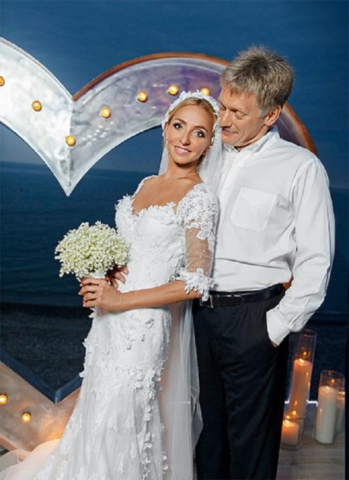 Татьяна Навка и Дмитрий Песков. / Фото: www.pizhonka.ru