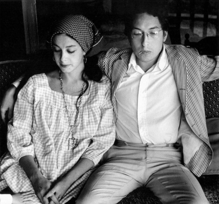 Боб Дилан и Сара Лоундс. / Фото: www.uofmusic.com