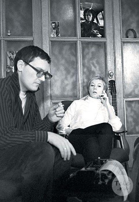Алла Демидова и Владимир Валуцкий. / Фото: www.kak2z.ru