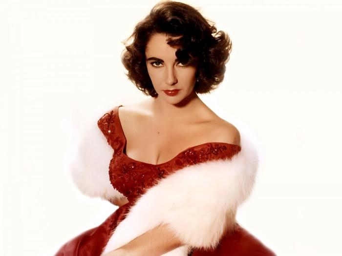 Элизабет Тейлор. / Фото: www.sensualwallpapers.com