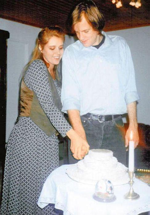 Янина Лисовская и Вольф Лист. / Фото: www.7days.ru