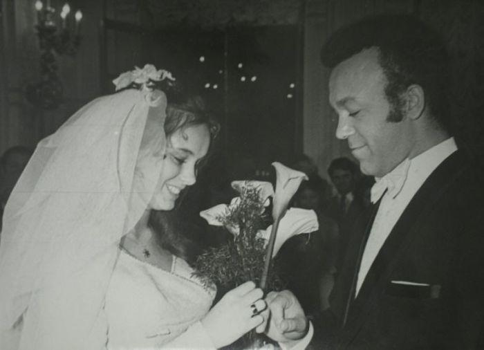 Иосиф  и Нелли Кобзон в день свадьбы. / Фото: www.adfaver.ru