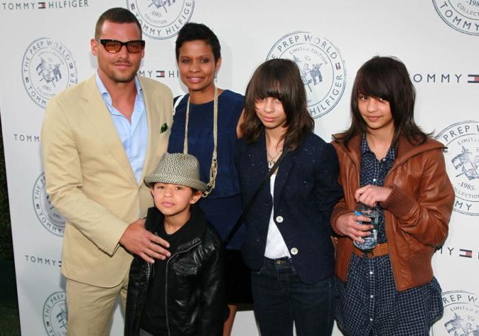 Джастин и Кеиша Чэмберс с детьми. / Фото: www.myajc.com