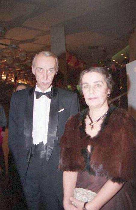 Ольга Заботкина с мужем Александром Ивановым. / Фото: www.stiley.ru