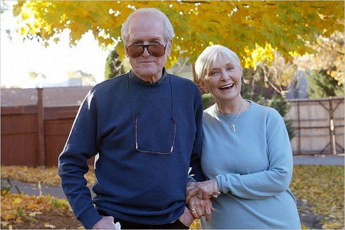 Пол Ньюман и Джоан Вудворд. / Фото: www.nytimes.com