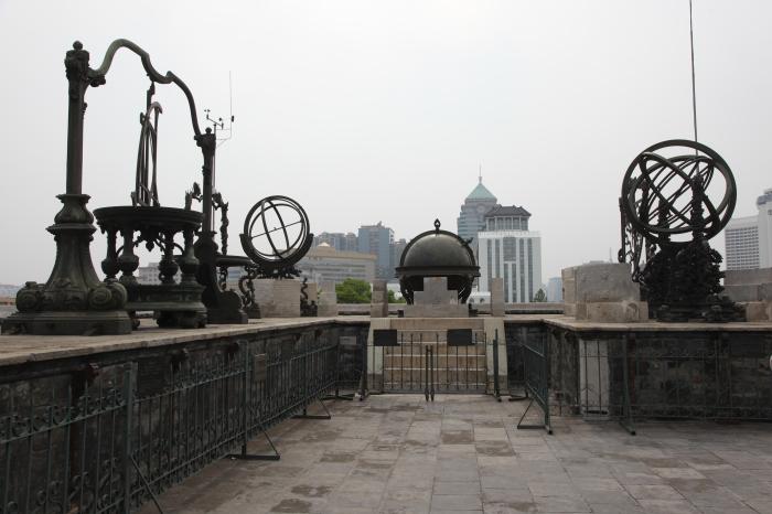 Древняя обсерватория в Пекине превратилась в музей астрономии. / Фото: www.wikimedia.org