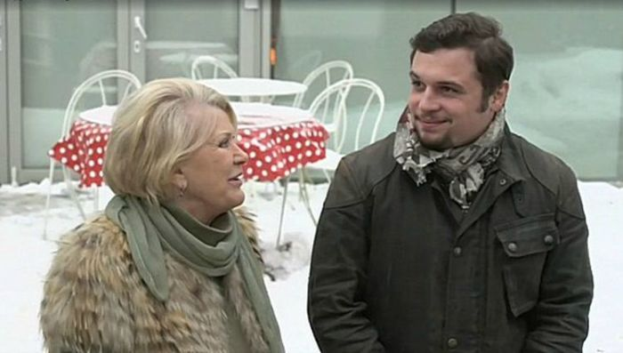 Галина Польских с внуком Филиппом. / Фото: www.novosti-dny.com
