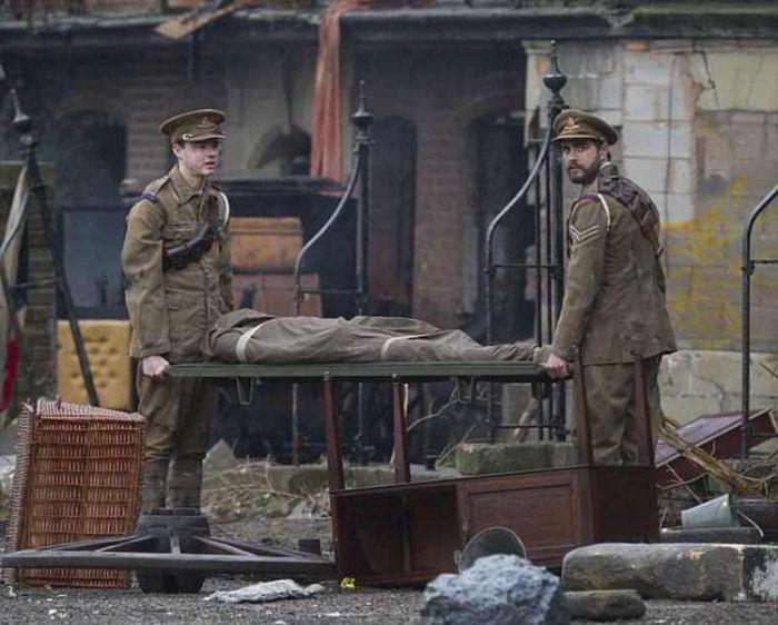 Фото со съёмок телеадаптации книги «Война Миров» Уэллса от канала BBC. / Фото: www.epscape.com