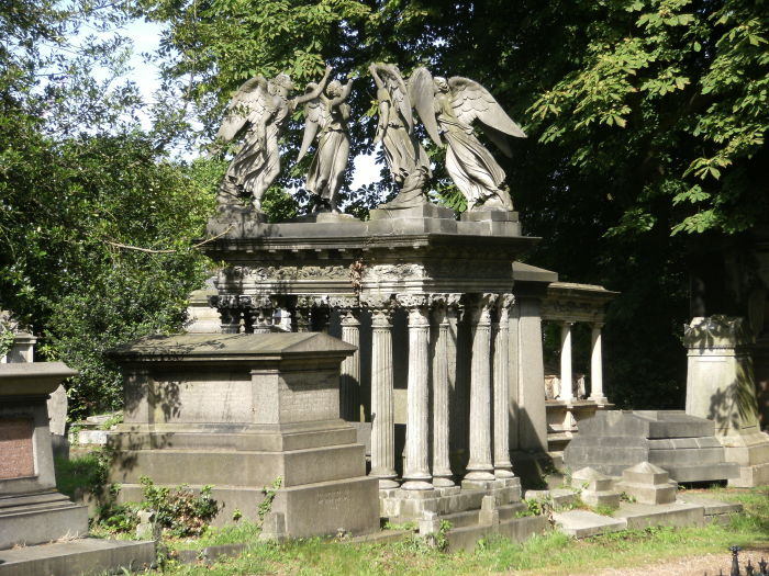 На кладбище Кенсал-Грин. / Фото: www.wikimedia.org