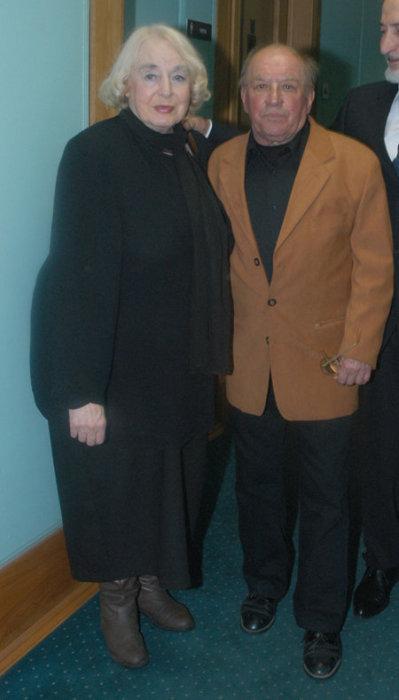 Лев Дуров и Ирина Кириченко. / Фото: www.eg.ru