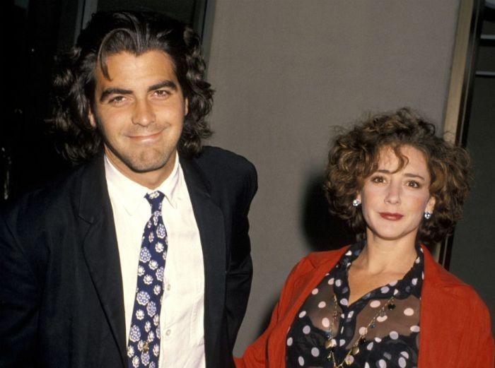 Талия Болсам и Джордж Клуни. / Фото: www.caracoltv.com