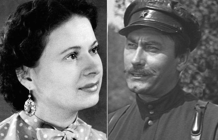 Владимир Самойлов и Надежда Ляшенко.