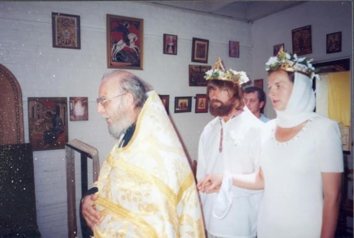 Фёдор и Ирина Конюховы, венчание. / Фото: www.matrony.ru