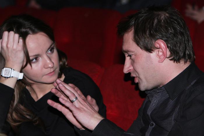 Константин Хабенский и Ольга Литвинова. / Фото: www.vz.ua