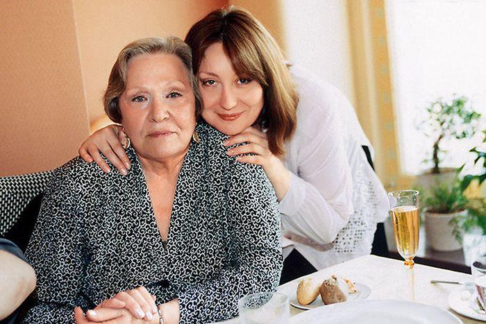 Римма Маркова с дочерью Татьяной. / Фото: www.7days.ru