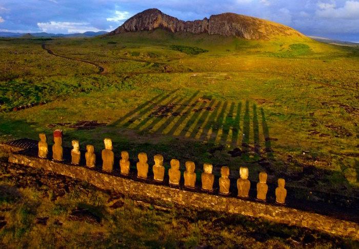 Остров Пасхи. / Фото: Pierre Lesage, www.travelbloggerbuzz.com