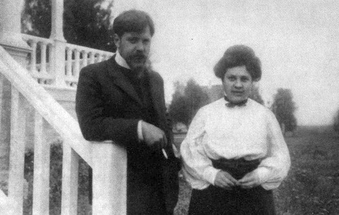 Петр Петрович и Ольга Васильевна Кончаловские, 1930 г. / Фото: www.indbooks.in