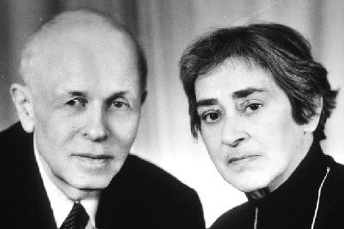 Андрей Сахаров и Елена Боннэр. / Фото: www.webslivki.com