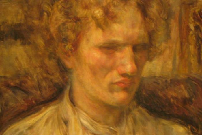 Портрет В.Ерошенко. Художник Накамура Цунэ. / Фото: www.vokrugknig.blogspot.com