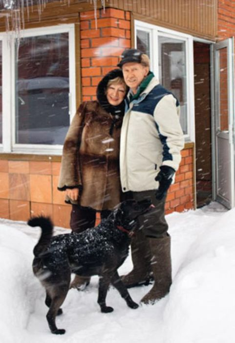 Юрий Кузьменков и Галина Ванюшкина. / Фото: www.7days.ru