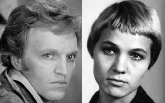 Александр Кайдановский и Нина Русланова.