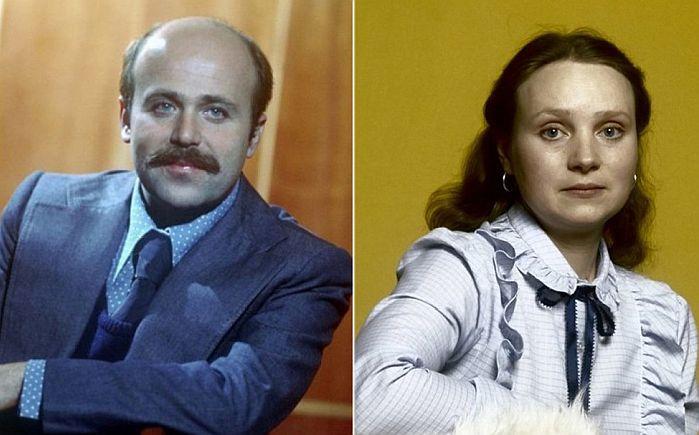 Евгения Глушенко и Александр Калягин.