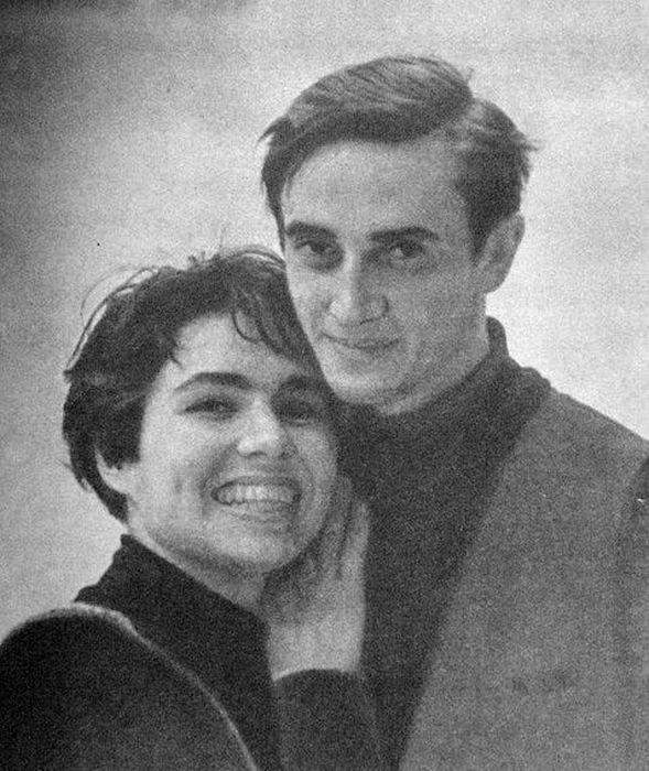 Людмила Пахомова и Александр Горшков, 1970 год. / Фото: www.tulup.ru